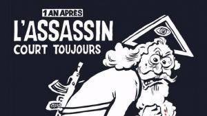 Gud får skylden på forsiden af Charlie Hebdo, der udkommer i en million eksemplarer på årsdagen for terrorangrebet 7. januar. Forsiden emmer af raseri og ensomhed – men eksperterne er uenige om, hvorvidt den er vellykket som satiretegning