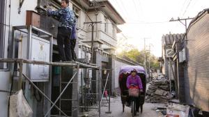 'Kina er et oplagt studieobjekt til at forstå, hvordan mennesket tilpasser sig livet i byen ved at ændre adfærd og ved at sætte deres eget præg på de omgivelser, de lever i,' siger byudvikleren Niels Bjørn.