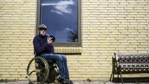 Jack er ramt af sklerose og ryger cannabis for at hverdagen tålelig.