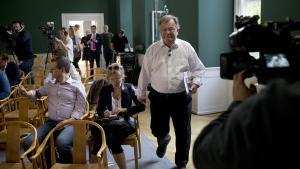 Finansminister Claus Hjort Frederiksen (V) har ikke indberettet stort beløb, han fik i støtte.
