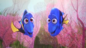 'Find Dory' er både smuk og begavet, men den lever alligevel ikke op til sin forgænger, 'Find Nemo'. Her er det Dorys forsvundne forældre, Jenny og Charlie.