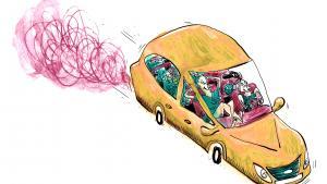 Informations illustrator Mia Mottelson startede bilen i Austin og kørte 2.800 kilometer til San Francisco uden andre planer end at møde amerikanerne og lade sig lede af deres anbefalinger