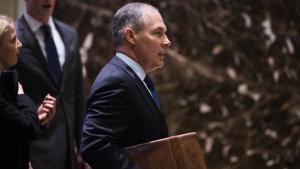 Med udnævnelsen af Scott Pruitt som chef for EPA, synes Trump at være til sinds at gøre alvor af sine løfter fra valgkampen om at rulle Obamas klimapolitik tilbage.