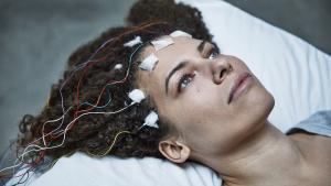 Jeniffer Brea lider af kronisk træthedssyndrom – og hun har lavet en film, der vises på CPH:DOX, om hendes sygdom. I filmen taler hun med en række andre, der deler hendes skæbne, fra forskellige steder i verden. Foto fra filmen
