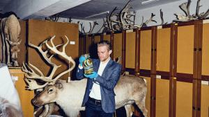 Ph.d. Cup-finalist Andreas Laustsen forsker i menneskelige antistoffer til slangegift.