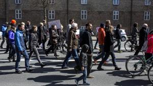 Omtrent 6.000 var lørdag på march i København med budskab om, at videnskab og sandhed er vigtige værdier at holde i hævd.