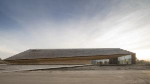 Vadehavscentret ved Ribe er tegnet af arkitekt Dorthe Mandrup.