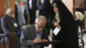 Iranerne stemmer i dag fredag 19. maj ved præsidentvalget i Iran