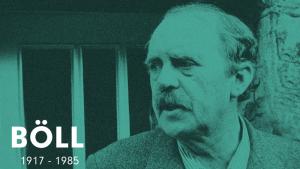 Heinrich Böll blev med sin lettilgængelige realistiske prosa de undertryktes og udstødtes stemme i tysk efterkrigslitteratur