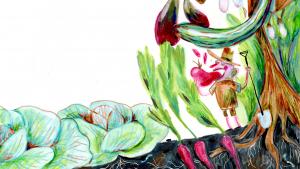 Hvis man rigtigt vil forstå naturen, skal man gribe hakkejernet og komme ud i haven, siger mestergartner Juaquin Hershman. Fundamentet for vores liv gemmer sig i nogle få skrøbelige tommer jord. Selv har Hershman gennem 40 år indsamlet frø. 'Frøet. Manifestationen af liv. Alt er inde i denne lillebitte livmoder'