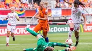 Trods en stærk start kunne de danske fodboldkvinder ikke holde hollænderne tilbage, og værterne tog EM-guldet med en 4-2 sejr.