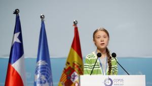»COP25 bør handle om at finde holistiske løsninger. Men i stedet har det forvandlet sig til en mulighed for de forskellige lande til at forhandle om smuthuller og måder til at omgå at hæve ambitionerne,« lød det fra Greta Thunberg under en paneldebat på klimatopmødet i Madrid. Kort efter debatten indtog unge klimaaktivister scenen