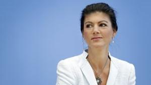 Sahra Wagenknecht fra Die Linke vil lade sig inspirere fra Frankrigs Gule Veste i 2019. Venstrefløjen skal på gaden, mener hun