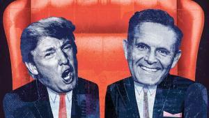 Fascinerende historie om tv-programmet 'The Apprentice', hvor Donald Trump blev kendt for sit »you're fired!« i enden af programmet. Det viser sig at forretningsgeniet ofte ikke havde nogen ide om deltagernes kompetencer og derfor fyrede de dygtige. Dette betød så, at producerne – for at retfædiggøre fyringen i programmets dramaturgi – måtte trawle alle optagelserne igennem for at finde klip, hvor deltagere fremstod mindre heldigt