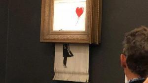 Lad os pille Banksy's velkorreograferede nummer på Sotheby's lidt fra hinanden og lad os drage konklusionerne heraf
