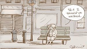 I mere end tre år har tegneren Connie Sun hver dag tegnet en tegning om de små og store udfordringer, hun møder som single i New York. Hun er hudløst ærlig, elskelig og underfundig – vi er fans!