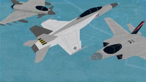 Zetland skærer det ud i pap med kampfly som bilkort og tilføjer: »Den største våbenhandel i Danmarkshistorien er tæt på sin afslutning – og valget falder sandsynligvis på en hundedyr flyver, som (endnu) ikke duer i tordenvejr. Her er, hvad du skal vide om Flyvevåbnets kommende køb af kampfly.«