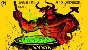 Normalt plaprer de op om alt, men om Syrien har europas intellektuelle indtil videre holdt kæft