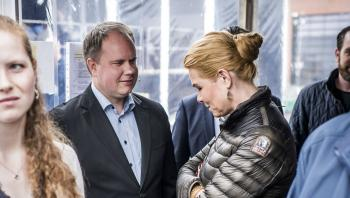 Martin Henriksen har den seneste tid være omdrejningspunkt i en intern strid i Dansk Folkeparti.
