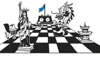 USA må indse, at Kinas dominans ikke bremses ved misundelse og fjendtlighed, men ved at Kina forpligtes på fælles spilleregler på verdensmarkedet. Vi er nødt til at finde et fredeligt samliv med dem, der regerer i Kina, skriver Mogens Lykketoft i denne kronik