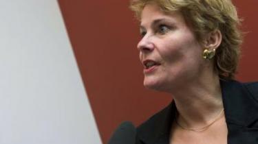 De Konservatives Pia Christmas-Møller erkender, at der er et vist mål af genbrug af midler i regeringens trepartsaftale, men mener - modsat oppositionen - ikke, at der er noget odiøst i den manøvre.