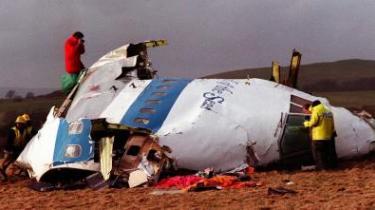 Næsen på den Boeing 747, der sprang i luften over den skotske by Lockerbie og endte med at koste Libyen 2,7 mia. dollar i erstatning. Nu bliver der sået tvivl om, hvorvidt Libyen overhovedet kunne stilles til ansvar.