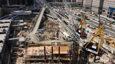 Der er mange konspirations-teorier om, hvad der egentlig skete den 11. september. Uanset, hvad der skete, er opbygningen af Freedom Tower i fuld gang, netop der hvor World Trade Centre stod.