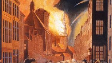 C.W. Eckersberg: -Det frygtelige bombardement af København-, 1807.