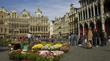 Den smukke Grand-Place er stadig samlingspunktet i midten af Bruxelles, og der er ikke meget, der tyder på, at separatisterne får held til at dele Belgien i to.