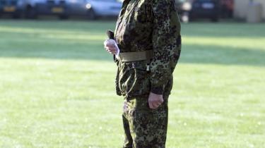 Flaget gik på halv ved en mindehøjtidelighed på Livgardens Kaserne Rosenborg i København i sidste uge, da to danske konstabler fra Den Kongelige Livgarde blev dræbt under kamphandlinger i det sydlige Afghanistan.