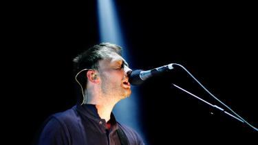 Thom Yorkes sangstemme folder sig smukkere og mere nuanceret ud end nogensinde før på Radioheads nye album, -In Rainbows-.