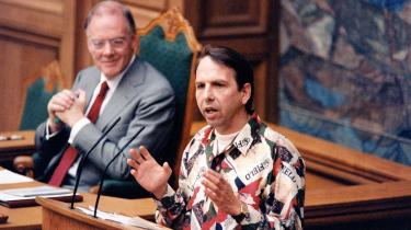 Efter valgløfter om medvind på cykelstierne og Nutella i feltrationerne kunne Jacob Haugaard med 23.253 stemmer i ryggen indtage Folketingets talerstol i 1994.