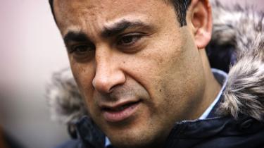 Naser Khader greb resolut knoglen og kaldte chefredaktør Qvortrup et svin. Tre gange endda.
