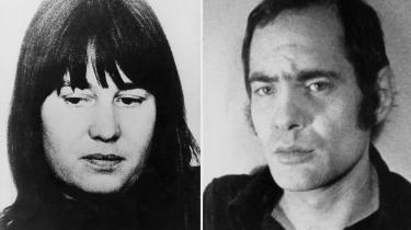 Baader-Meinhofgruppens to umage lederskikkelser, den dogmetro leninist Ulrike Meinhof og den voldskriminelle playboy Andreas Baader.