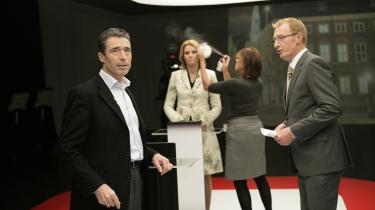 En aggressiv tv-duel kunne ikke skjule fraværet af betydningsfulde modsætninger mellem Anders Fogh og Helle Thorning