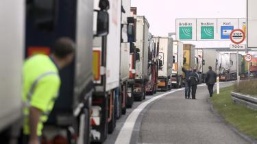 Protesterne mod de udskældte køre-hvile-tidsregler er tilsyneladende ved at gå i sig selv