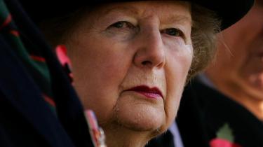 Fogh-regeringen har på flere punkter ladet sig inspirere af Margaret Thatchers politik efter den konservative valgsejr i Storbritannien i 1979.