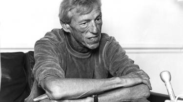 Erik Knudsen, her fotograferet i 1982, er død 85 år gammel