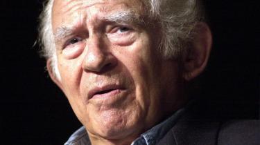 Døden. Når jeg dør, håber jeg, at kommer i himlen - hvor helvede det er henne, sagde Norman Mailer i et interview med Information i 2003.