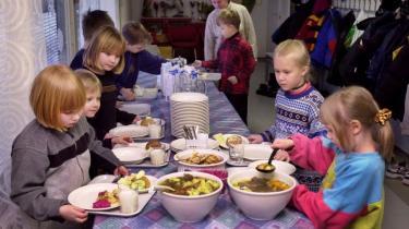 Den finske folkeskole påtager sig i højere grad end den danske ansvaret for børnenes fysiske sundhed. Der er f.eks. gratis og sund skolemad
