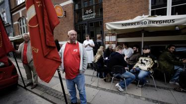 Om 3F har ret til at blokere sig til en overenskomst med Nørrebro Bryghus afgøres den 12. december, nårArbejdsretten afsiger dom. Venstres arbejdsmarkedsordfører Jens Vibjerg kalder det -helt ude i hampen-.