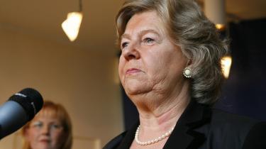Den nye integrationsminister Birthe Rønn Hornbech har ikke brug for en spindoktor. Hun har stort netværk af fornuftige mennesker, som hun snakker med om det politiske.