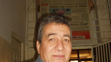 Avisen El Watans chef, Omar Belhouchet, har været udsat for mord-forsøg, været fængslet og tortureret for sine ord. Alligevel synes han, at han har verdens bedste job, der er en vidunderlig kamp for frihed