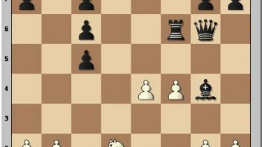 Nogle gange er skak et meget pædagogisk spil, hvor et enkelt træk kan ændre stillingen så fundamentalt, at man som gammel lærer føler trang til at gribe fat i den store pegepind og brøle til læserskaren: 'Se nu her, folkens! Lyt og lær!'