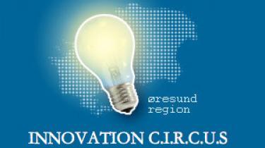 På DTU er der 'innovation cirkus' i denne uge. Det indbefatter både prisuddeling, konferencer og en cirkusarena med innovative plancher og spillekort, der står 'ål' på