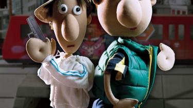 De to venner Ali (t.v.) og Hassan (t.h.) på 12 og 13 år fra DR2-s omdiskuterede julekalender -Yallahrup Færgeby-.