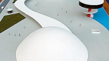 En upåagtet spansk havneby skal huse arkitekten Oscar Niemeyers modstykke til bl. a. Pompidou-centeret i Paris, Operahuset i Sydney og New Yorks Lincoln Centre