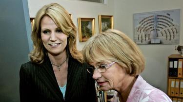Pia Kjærsgaard og Helle Thorning Schmidt udgør et det nye folketings mest bemærkelsesværdige samarbejdsteam.