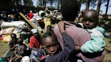 Urolighederne i Kenya har gjort mange mennesker hjemløse, og adskillige har sat kursen mod slumkvarteret Mathare i hovedstaden Nairobi.