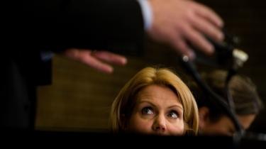 Projekt. Alle var enige om, at Helle Thorning-Schmidt leverede en fremragende valgkamp, når hun i stedet for at sænke blikket, så Anders Fogh Rasmussen lige i øjnene og sagde: »Det er ikke godt nok«. Men, hvad med projektet, lød den efterfølgende sætning altid.